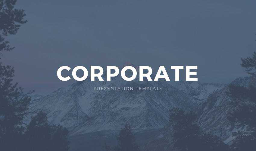 Corporate business google slides theme presentation template free