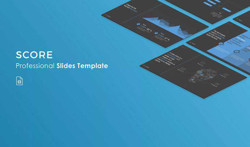 Score google slides theme presentation template