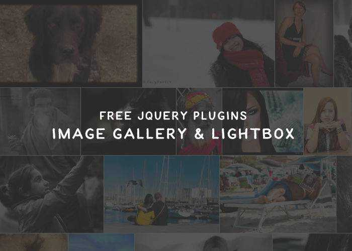 18 Free jQuery Image Gallery & Lightbox Plugins