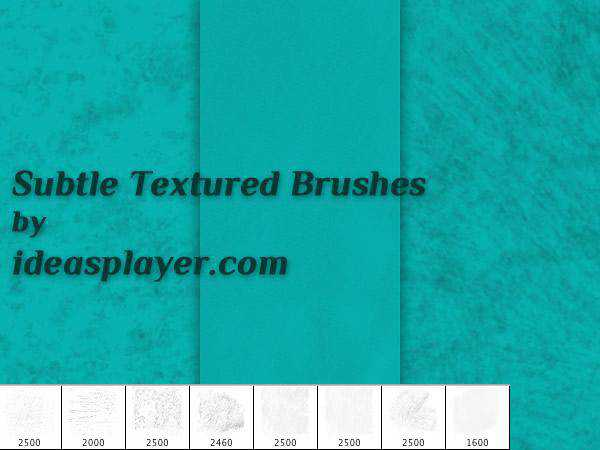ps soft subtle textured free photoshop brush pack set adobe