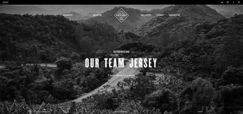 Kirschner Brasil sport fitness web design inspiration ui ux