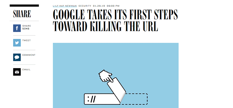 Google Takes Its First Steps Toward Killing the URL