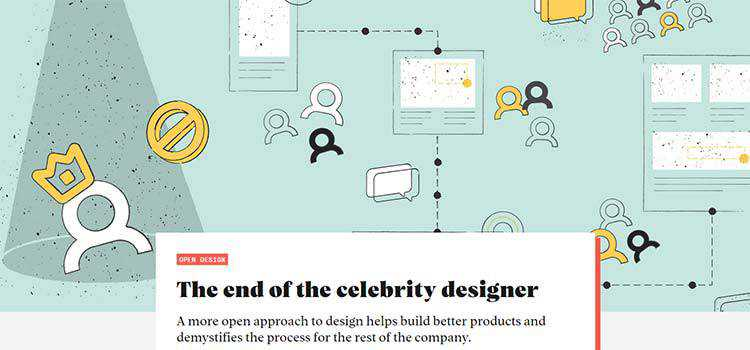 The end of the celebrity designer