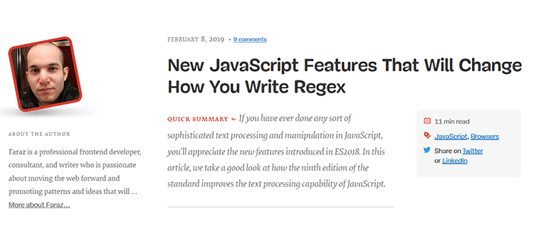 New JavaScript Features That Will Change How You Write Regex