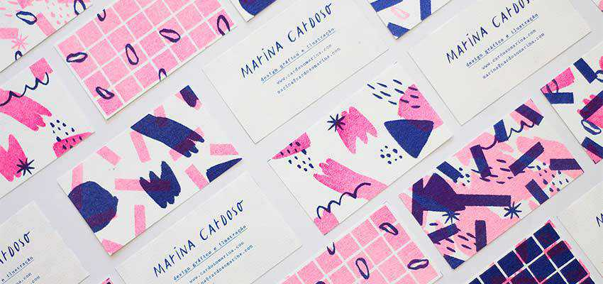 Personal Business Cards by Marina Cardoso