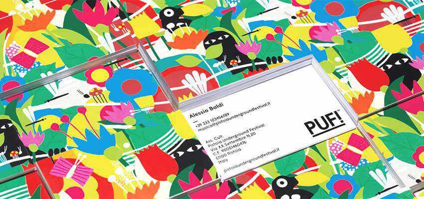 PUF! Festival - Brand Identity