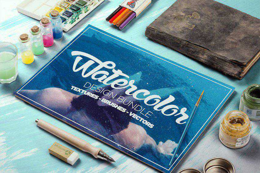 Watercolor Design Bundle