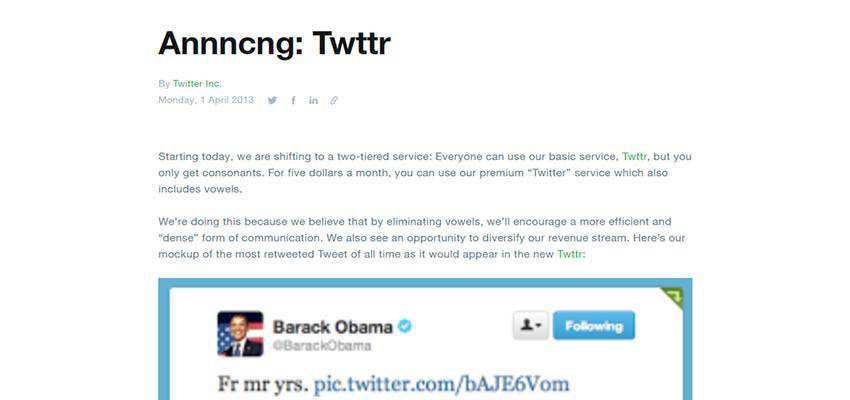 Twitter Press Release