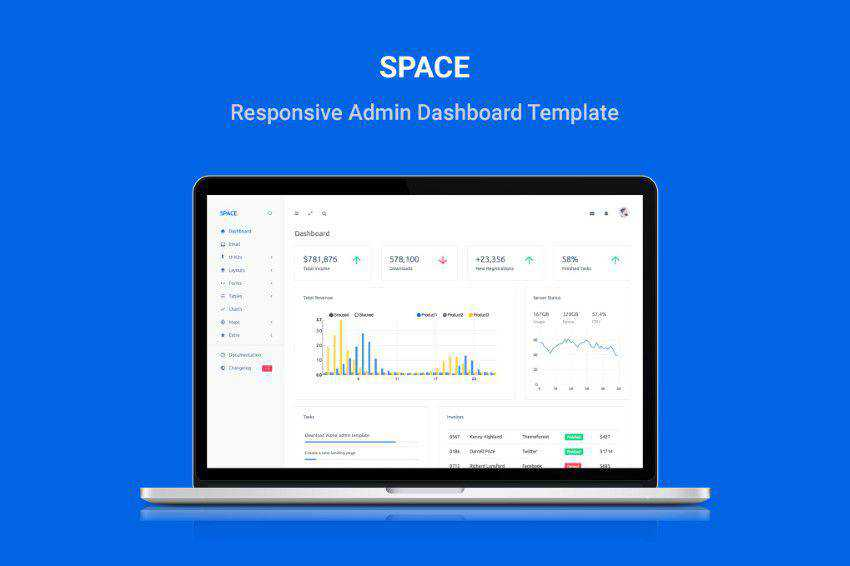 Space Bootstrap Admin