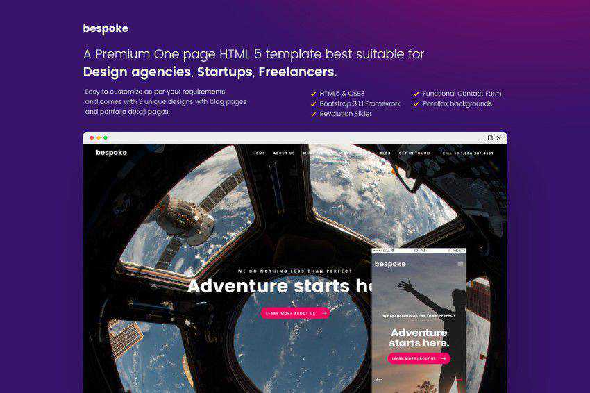 50 Best Free Bootstrap Web Templates & Themes for 2019