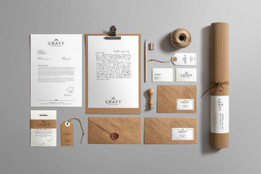 Craft Branding Mockup