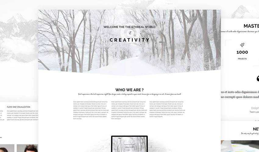 Foreal Business HTML5 Template corporate website web design inspiration ui ux