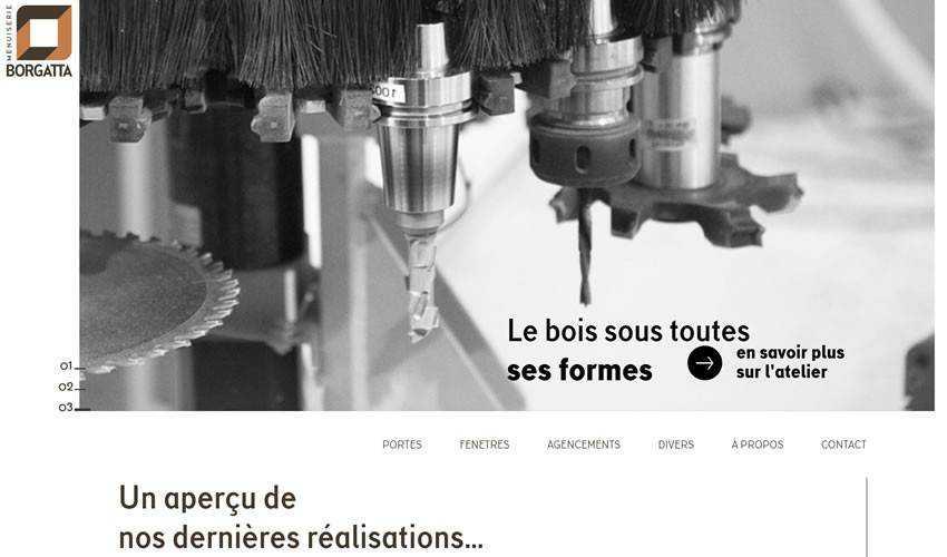 Borgatta business corporate website web design inspiration ui ux