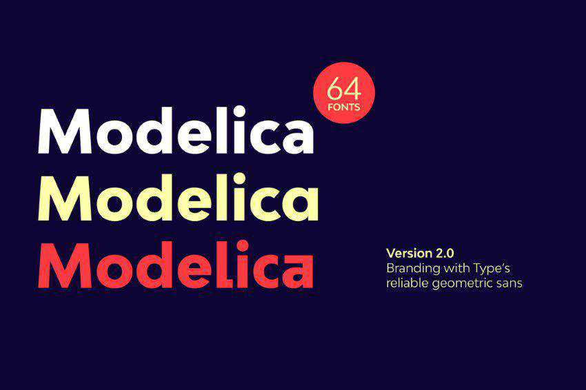 Bw Modelica Font Family clean font