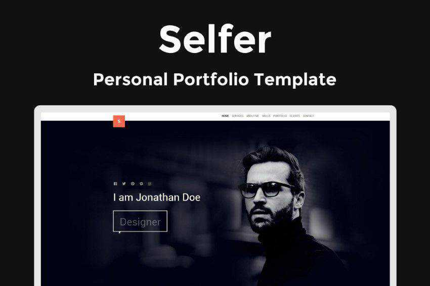 Inspiration Web Graphic Design Portfolio Selfer