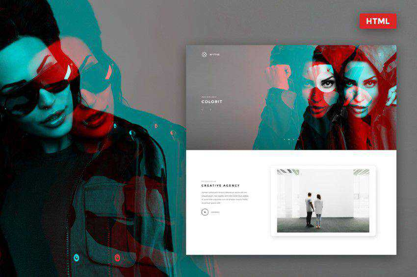 Inspiration Web Graphic Design Portfolio Wythe