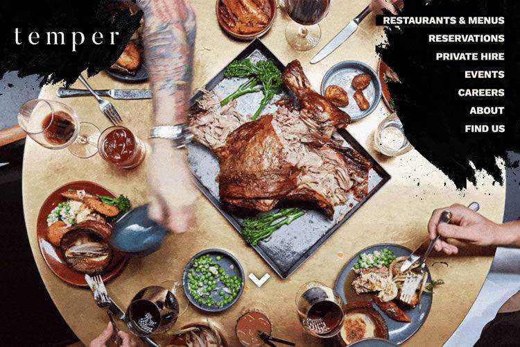20 Beautiful Restaurant & Food Websites for Inspiration