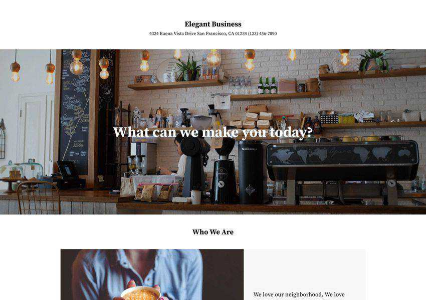 Elegant free wordpress theme wp responsive business corporate