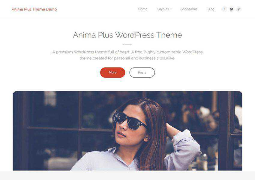Anima Highly Customizable free wordpress theme wp responsive business corporate