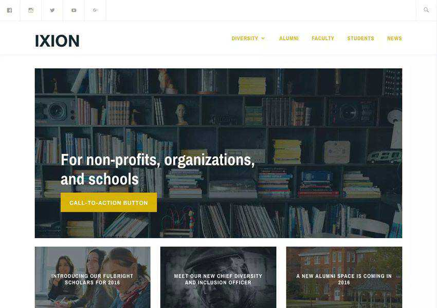 Ixion free wordpress theme wp responsive business corporate
