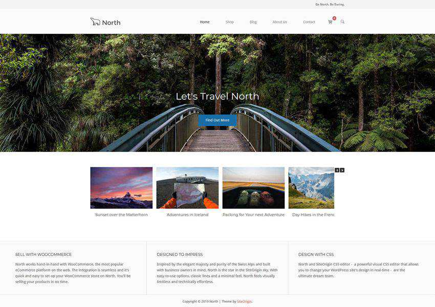 north free wordpress theme wp responsive business corporate