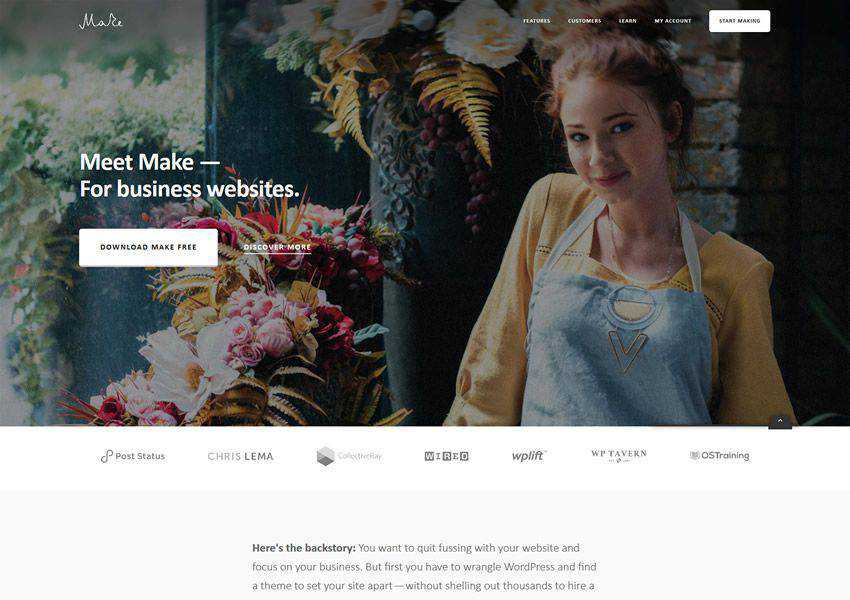 make free wordpress theme wp responsive business corporate