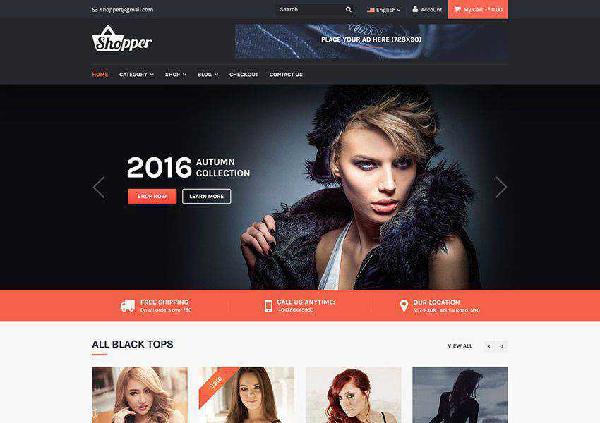 Tyche free wordpress theme wp responsive ecommerce shop woocommerce