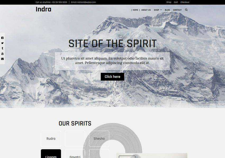 Indra WPKoi free wordpress theme wp responsive ecommerce shop woocommerce
