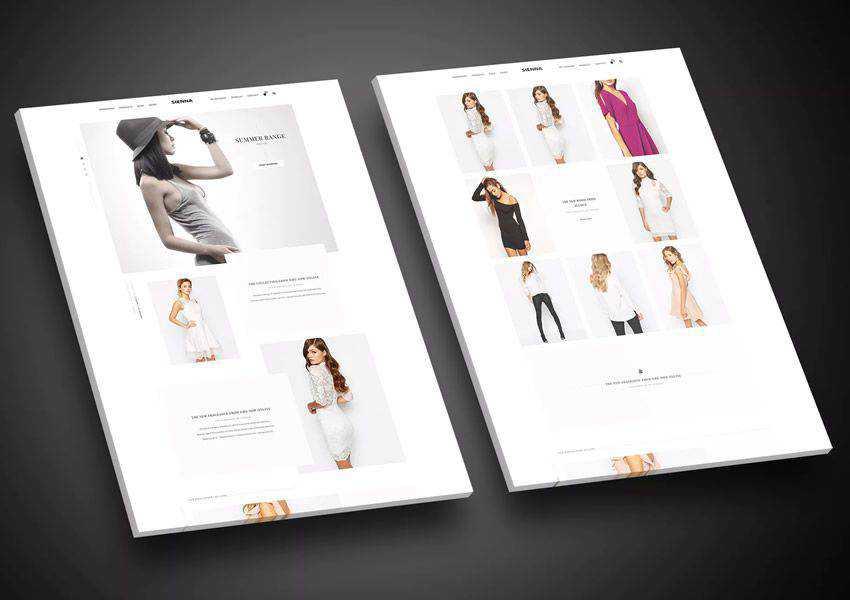 Sienna Fashion wordpress theme ecommerce shop woocommerce