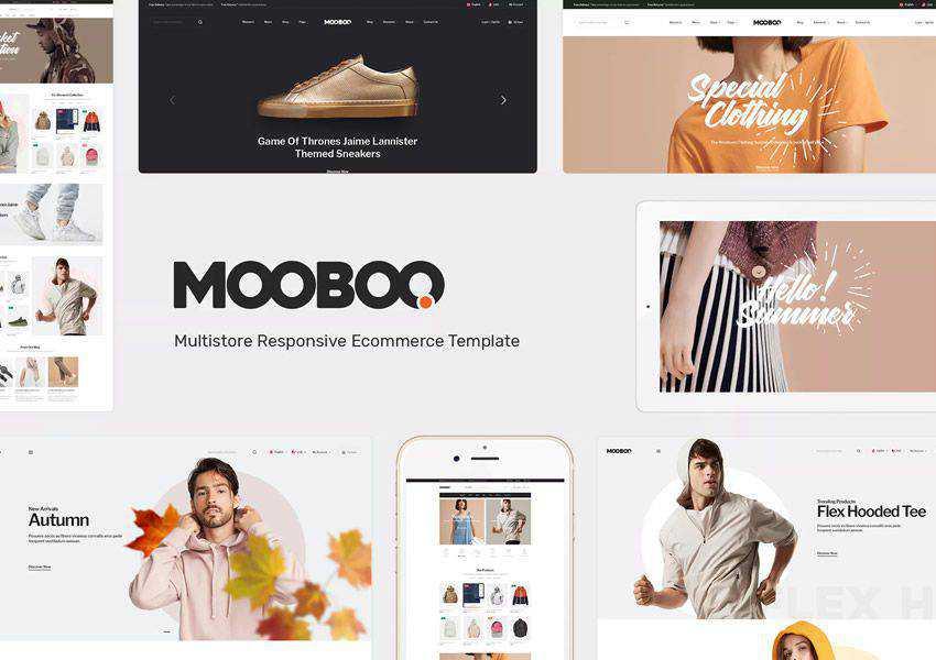 Mooboo WooCommerce wordpress theme fashion lifestyle blog