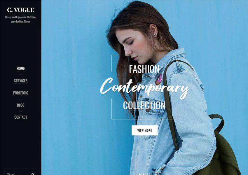 Catch Vogue Stylish free wordpress theme wp responsive fashion lifestyle blog