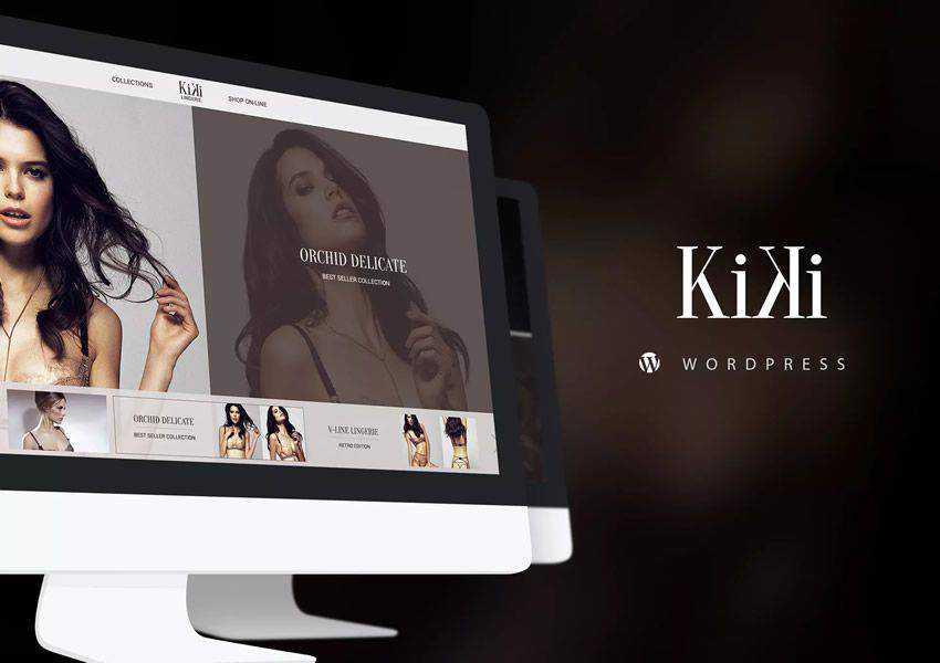 Kiki Multipurpose Modern WooCommerce wordpress theme fashion lifestyle blog
