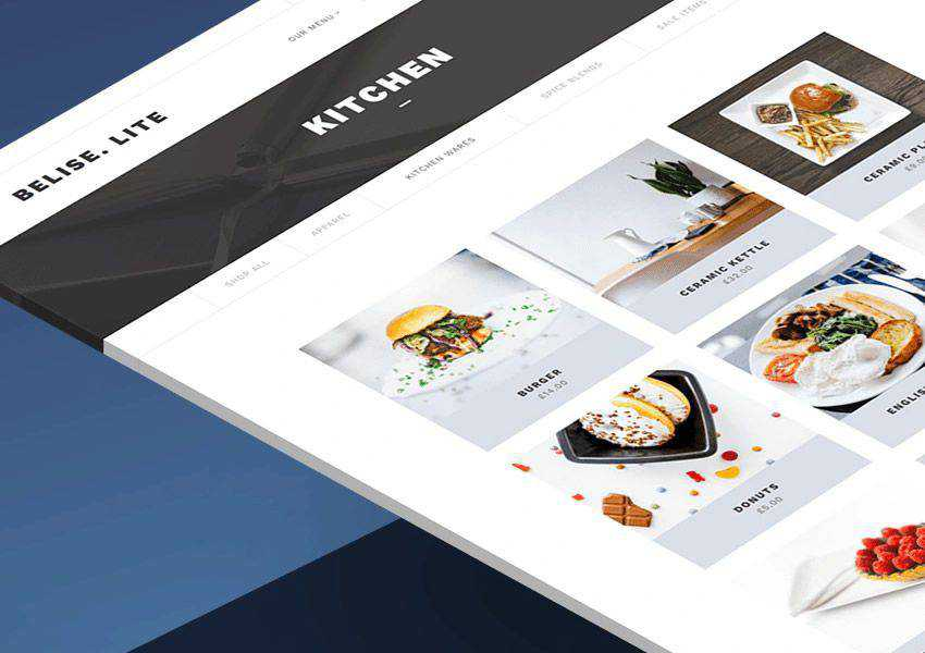 Belise Lite free wordpress theme wp responsive food culinary restaurant foodie lifestyle
