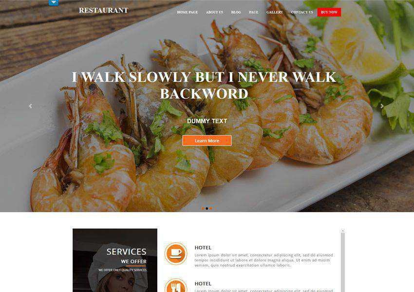 free wordpress theme wp responsive food culinary restaurant foodie lifestyle