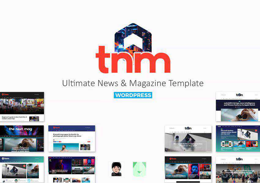 The Next Mag wordpress theme magazine news blog