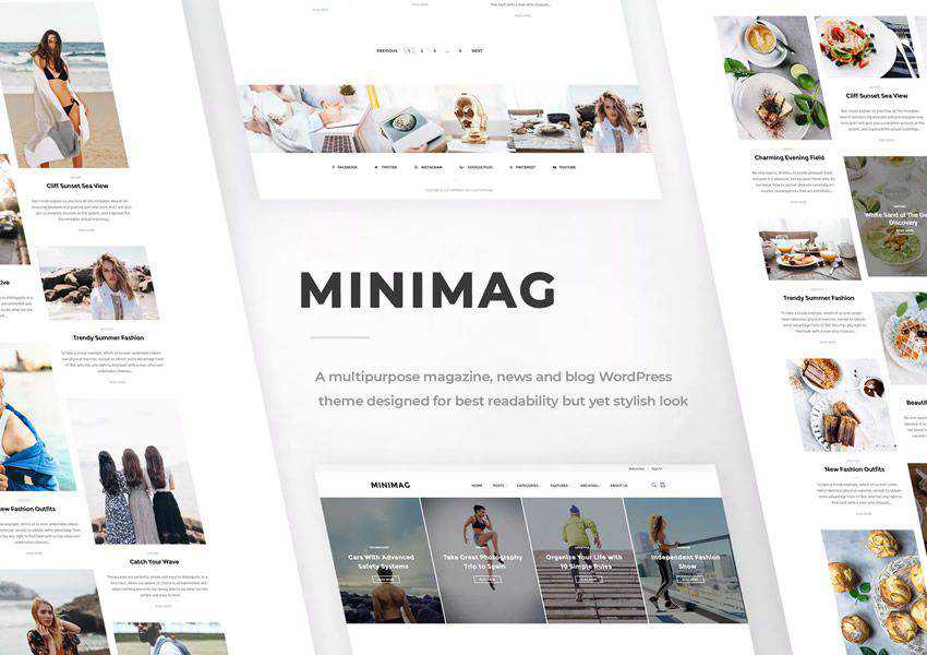 MiniMag wordpress theme magazine news blog