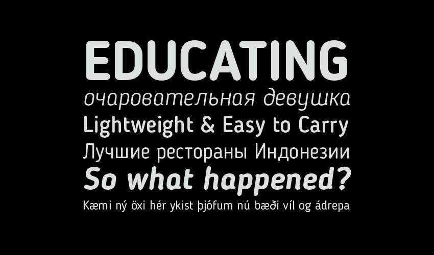 Blogger Sans free minimal font design typecase typography