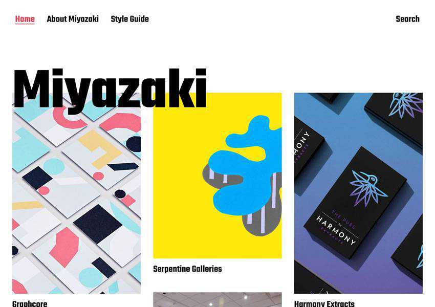 Miyazaki Stylish free wordpress theme wp responsive creative designer agency portfolio camera