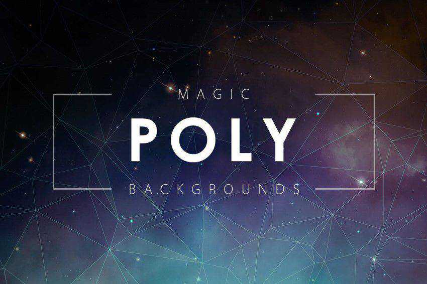 Magic Poly Backgrounds