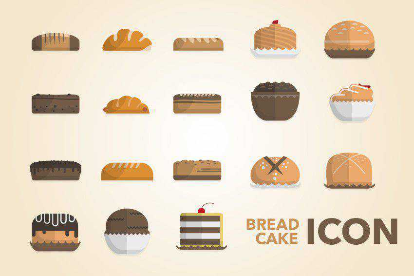 Bread & Cake Icon