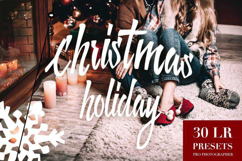 Free Christmas Holiday Lightroom Presets