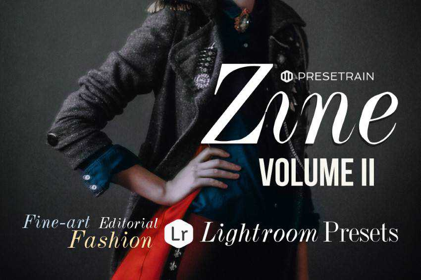 Zine Fashion Lightroom Presets - Volume II