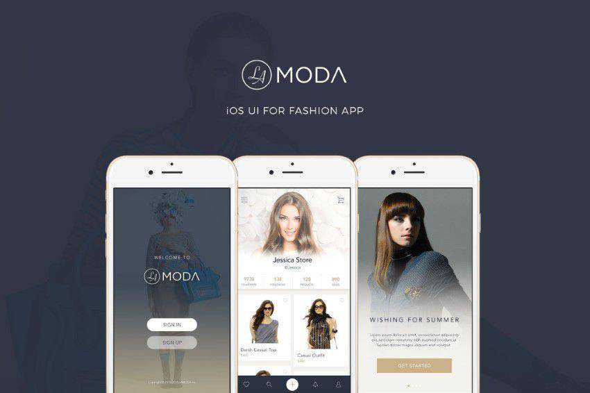LaModa-Fashion-iOS-App-UI