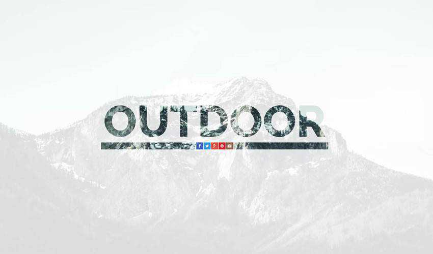 Outdoor OnePage Template one-page single-page website web design inspiration ui ux