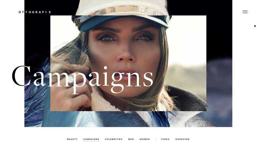 Otto van den Toorn photographer portfolio camera website web design inspiration ui ux