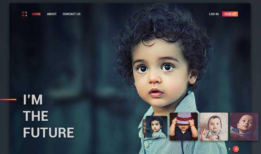 Sujeet Mishra photographer portfolio camera website web design inspiration ui ux