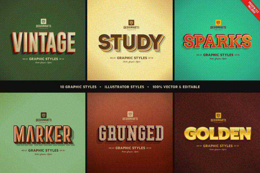 Retro-Vintage-Text-Styles-