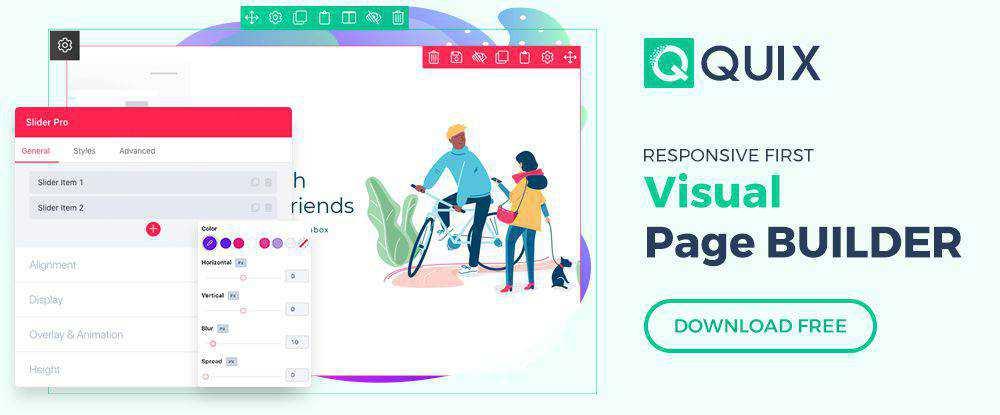 Quix - Joomla Page Builder