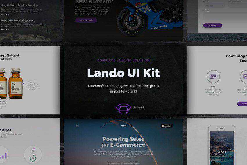 Top 50 Free Web UI Kits & Templates for 2019