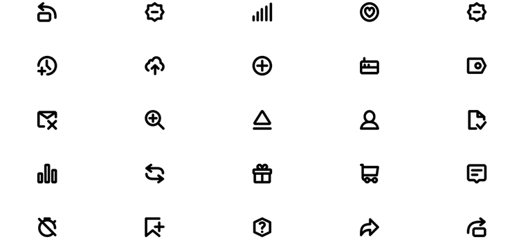 Super Basic Icons